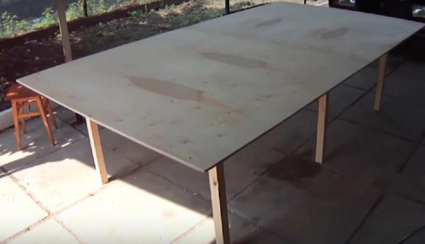 Membuat Lapangan Tenis Meja