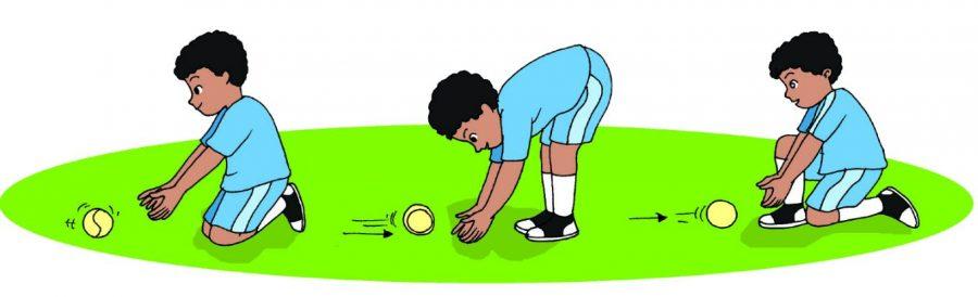Menangkap Bola Merendah