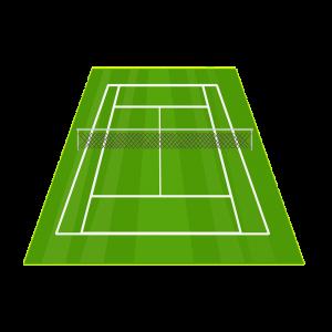 Ukuran Lapangan Tenis dan Jenis Lapangan Tenis