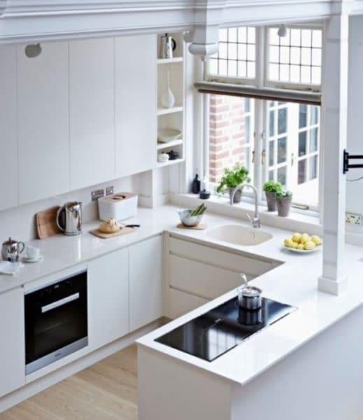 Desain Dapur Kecil Tapi Rapih