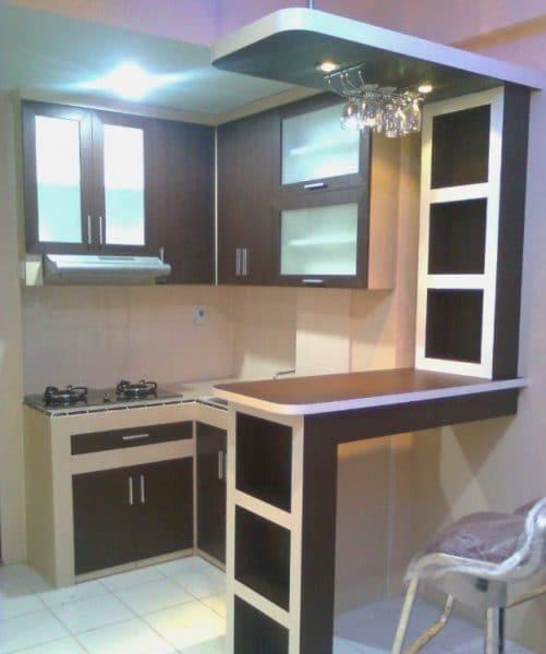 7 Desain Dapur Sempit Solusi