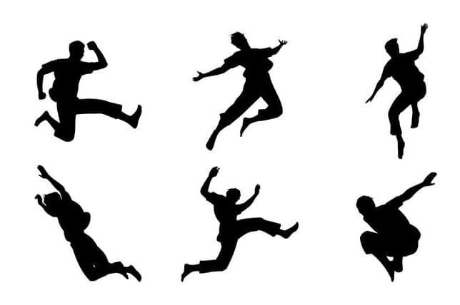 Gaya Lompat Jangkit