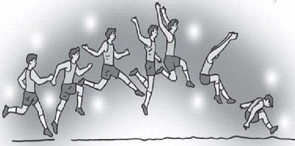 Gaya Menggantung Lompat Jauh
