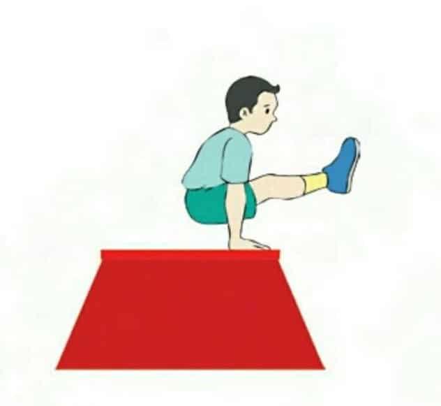 Pengertian Lompat kangkang